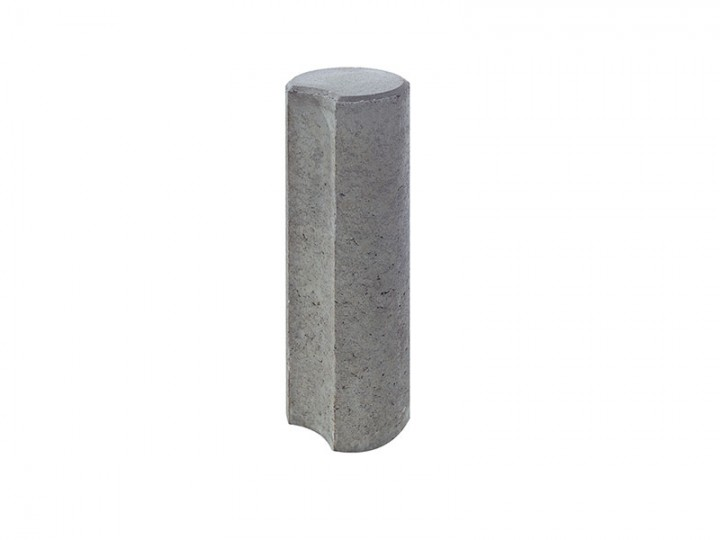 KLEINPALISADEN Grau, 15X60 Cm
