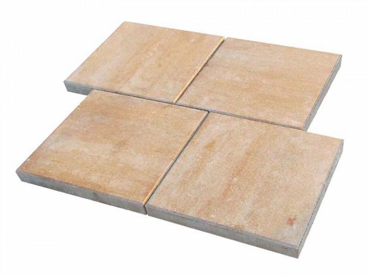 VIA TERRASSENPLATTEN Sandstein, 40X40X4 Cm