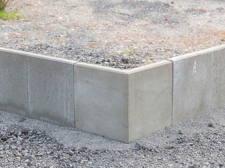 L-Stein Ecke Grau, 40X50X50X7 Cm