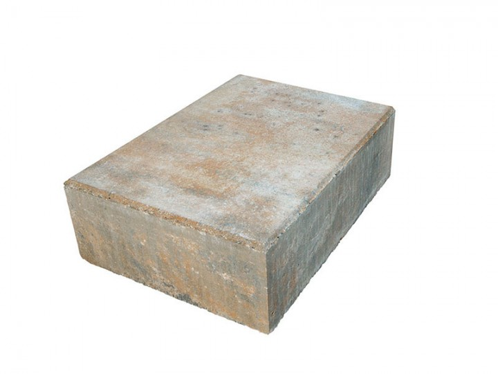 VIA BLOCKSTUFEN Muschelkalk, 50X35X15 Cm