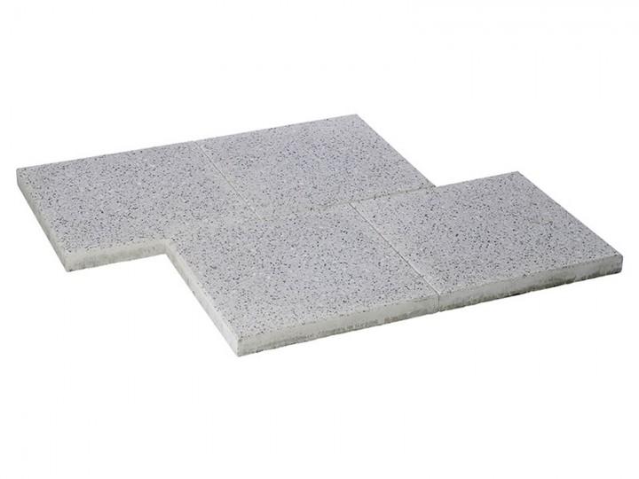 OPTIMA Granit-Weiß, 40X40X4 Cm