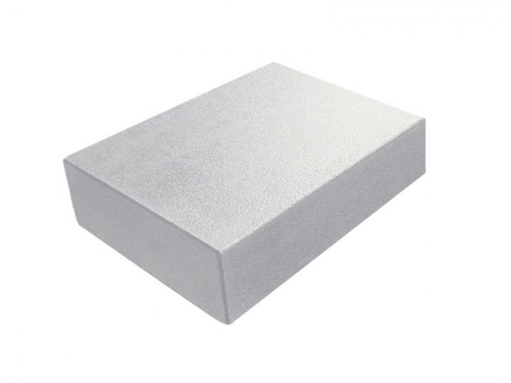 EDELIA BLOCKSTUFEN Grau-Weiß, 50X35X15 Cm